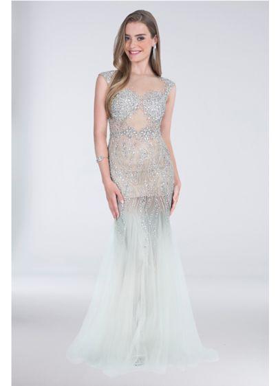 fdb4c958 Long Mermaid/ Trumpet Tank Formal Dresses Dress - Terani Couture ...