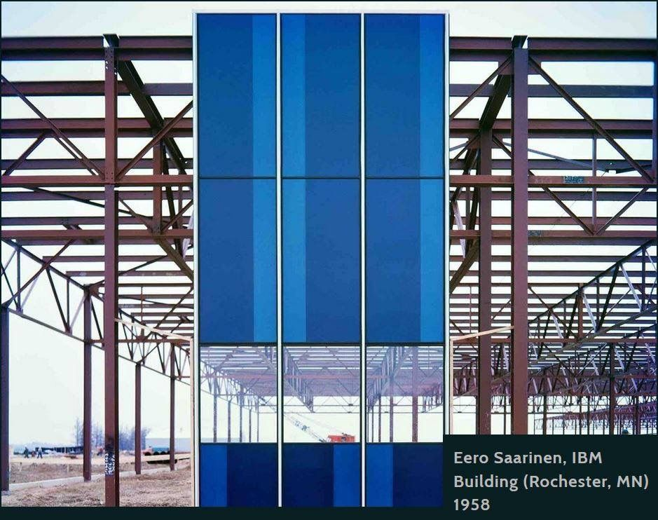 Ibm Manufacturing Training Facility 1956 1958 Rochester Eero