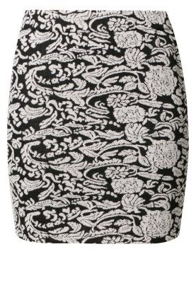 Minifalda - negro