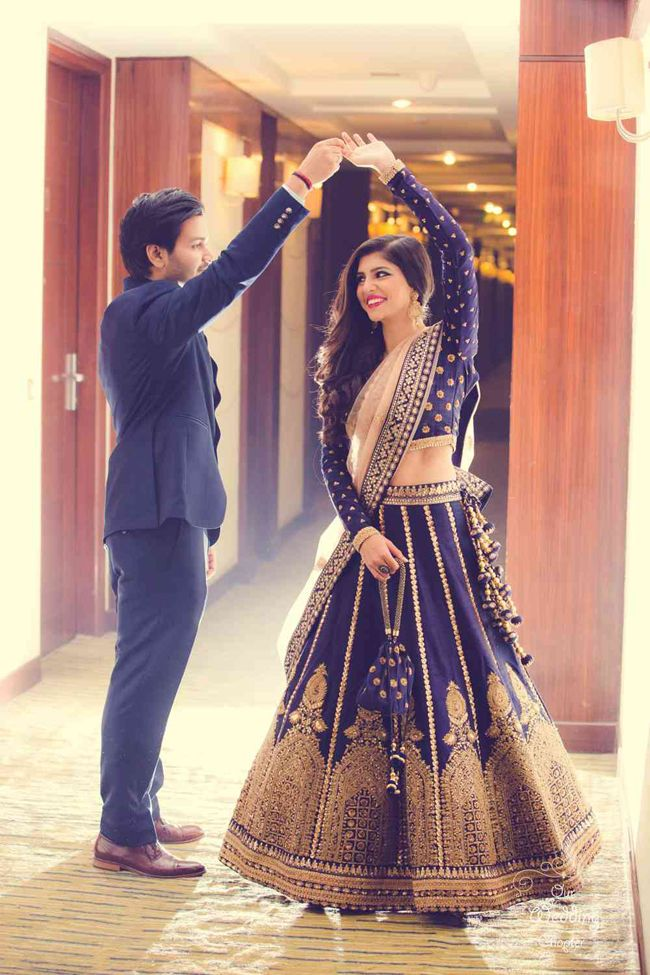 Are Dark Toned Bridal Lehengas the Newest