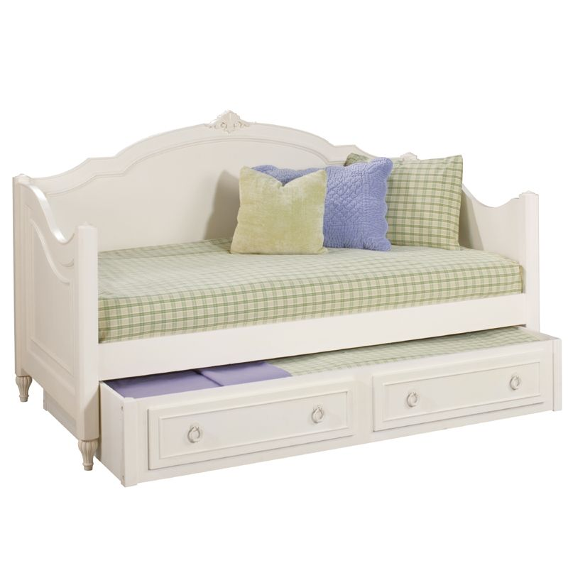 32++ White wood daybed with trundle information
