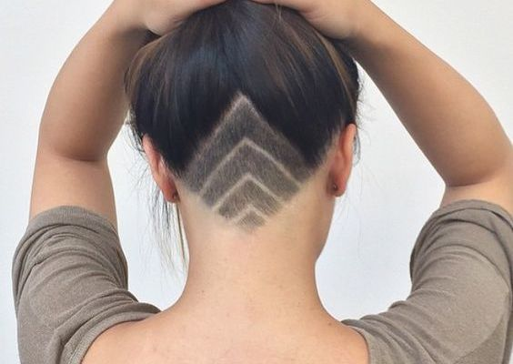 Image result for female undercut designs