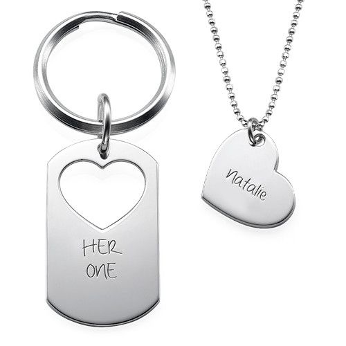 His Only Her One Necklace April 2017