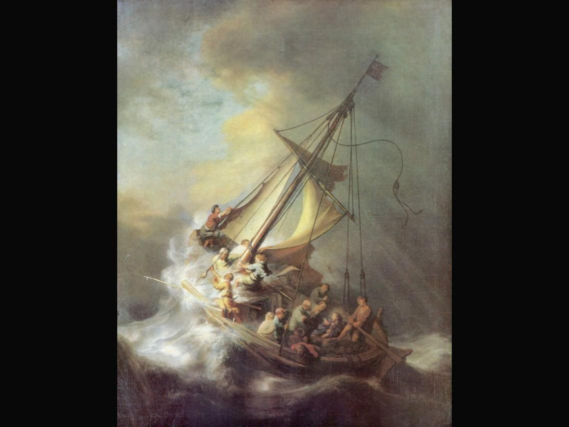 La Tormenta En El Mar De Galilea Rembrandt The Italian Job Antonio Salieri