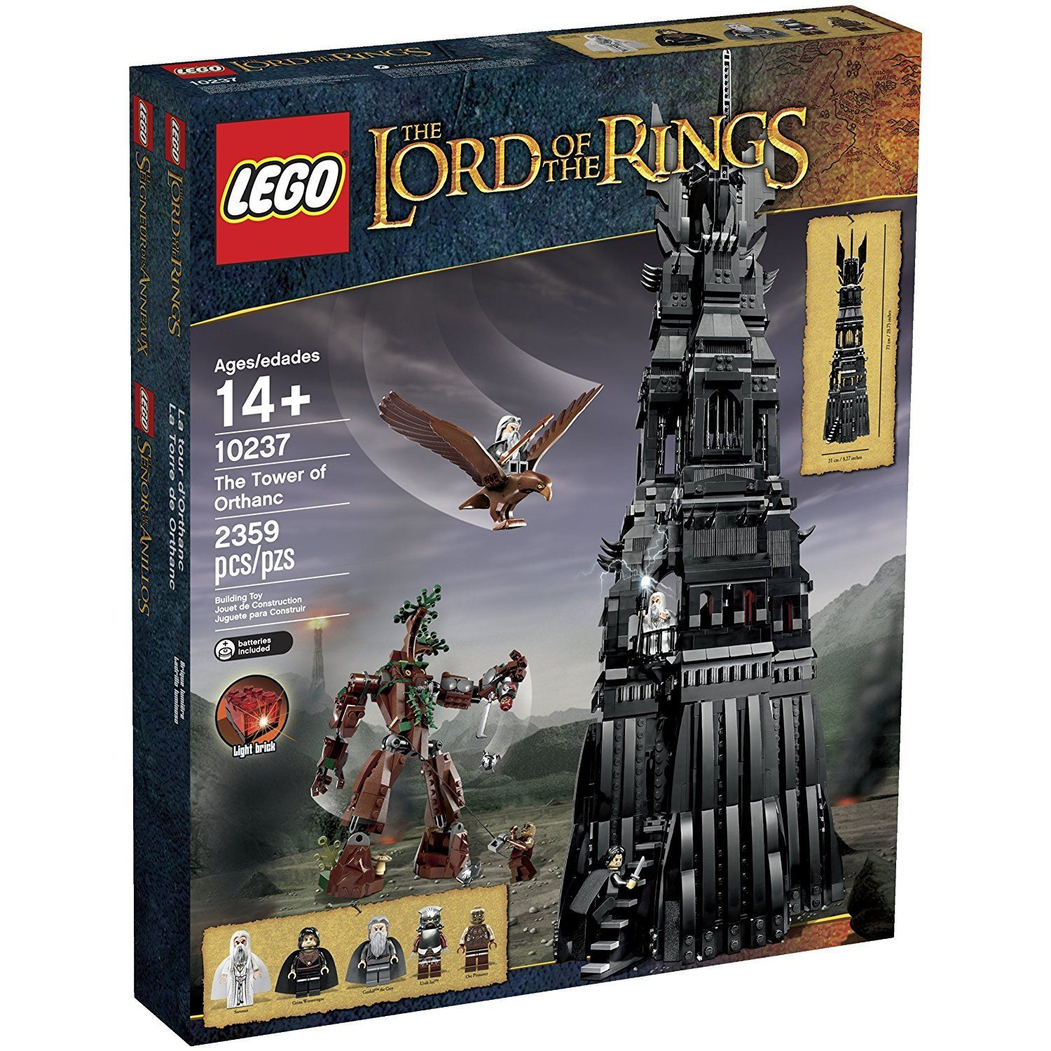 Lego Lord Of The Rings Set 10237 Tower Of Orthanc Brand New Lego