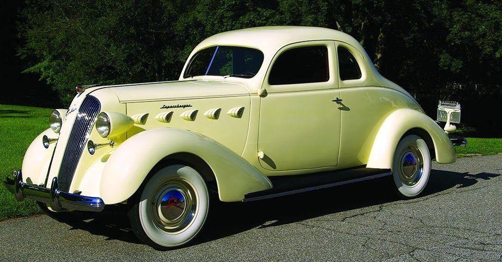 Top 100 American Collector Cars of All Time - / 1936-37 Graham ...