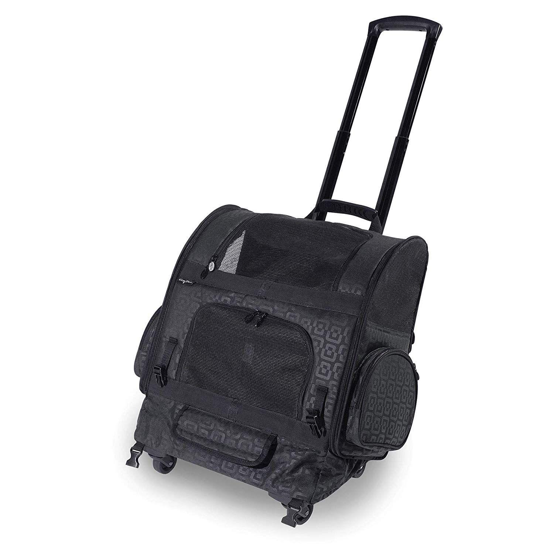 Gen7Pets Geometric RollerCarrier Backpack Wonderful of