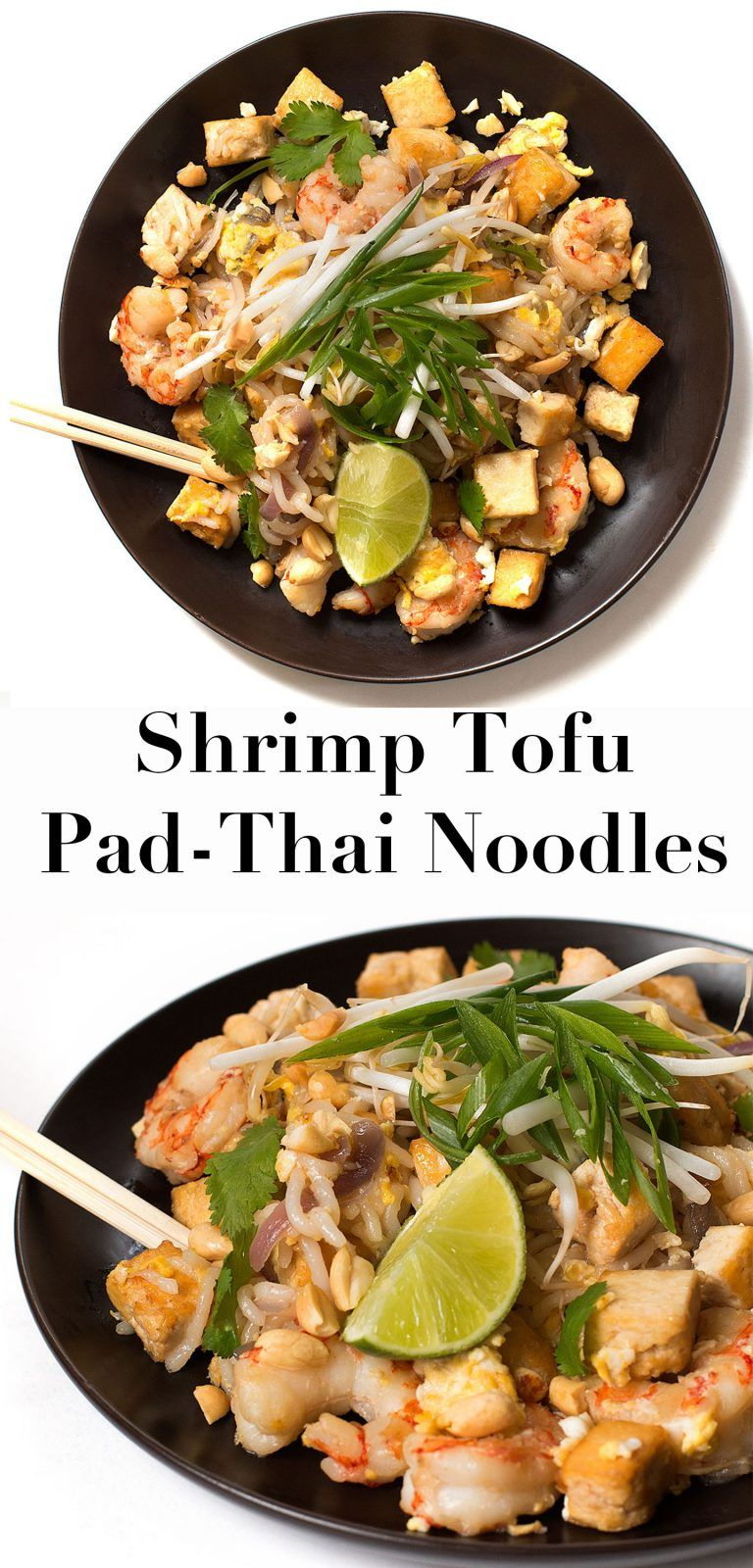 Shrimp Tofu Pad Thai Noodles -   18 healthy recipes Shrimp tofu ideas