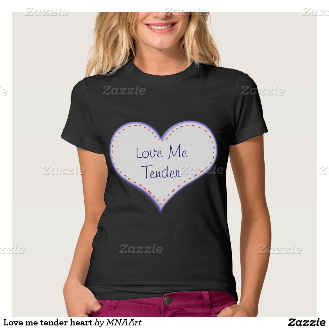 Love me tender heart tee shirtLove me tender heart tee shirt #love #Shirt #mnaart
