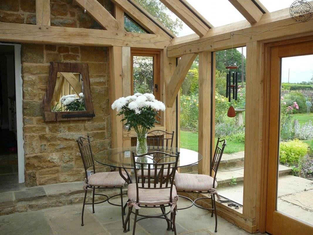 Carpenter Oak Conservatory For The Home Pinterest