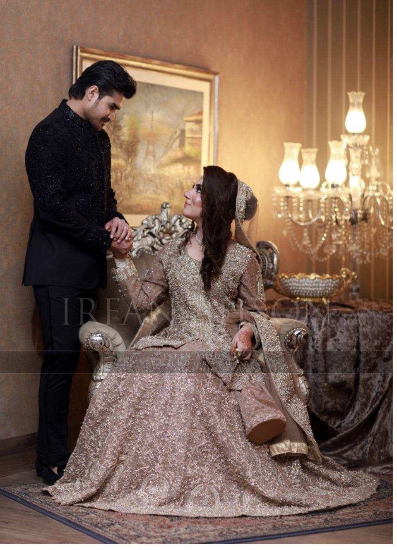 Bride and groom  Pakistanische hochzeitskleider, Pakistanische