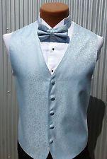 8724c0eea6d9 Men's POWDER LIGHT BLUE Tuxedo Vest & Bow Tie Set - All Sizes ...