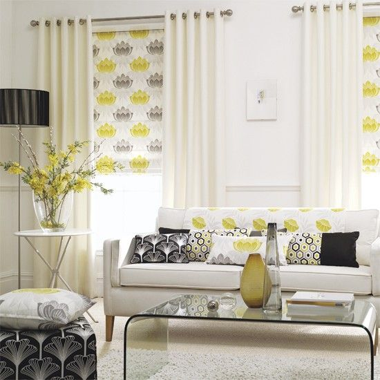 Cheap Best Images About Living Room Designs On Pinterest Stripes With Grey  And Yellow Living Room.