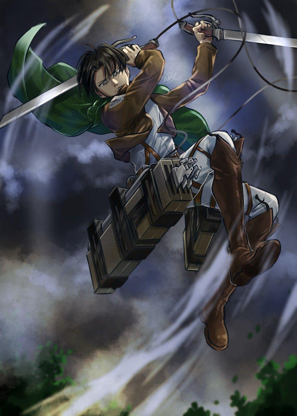 Levi Ackerman Attack On Titan Anime Attack On Titan Levi Attack On Titan Art