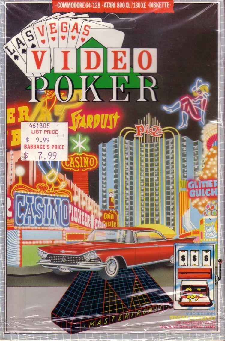 C64LVVideoPoker1750.jpg Video poker, Poker, Online