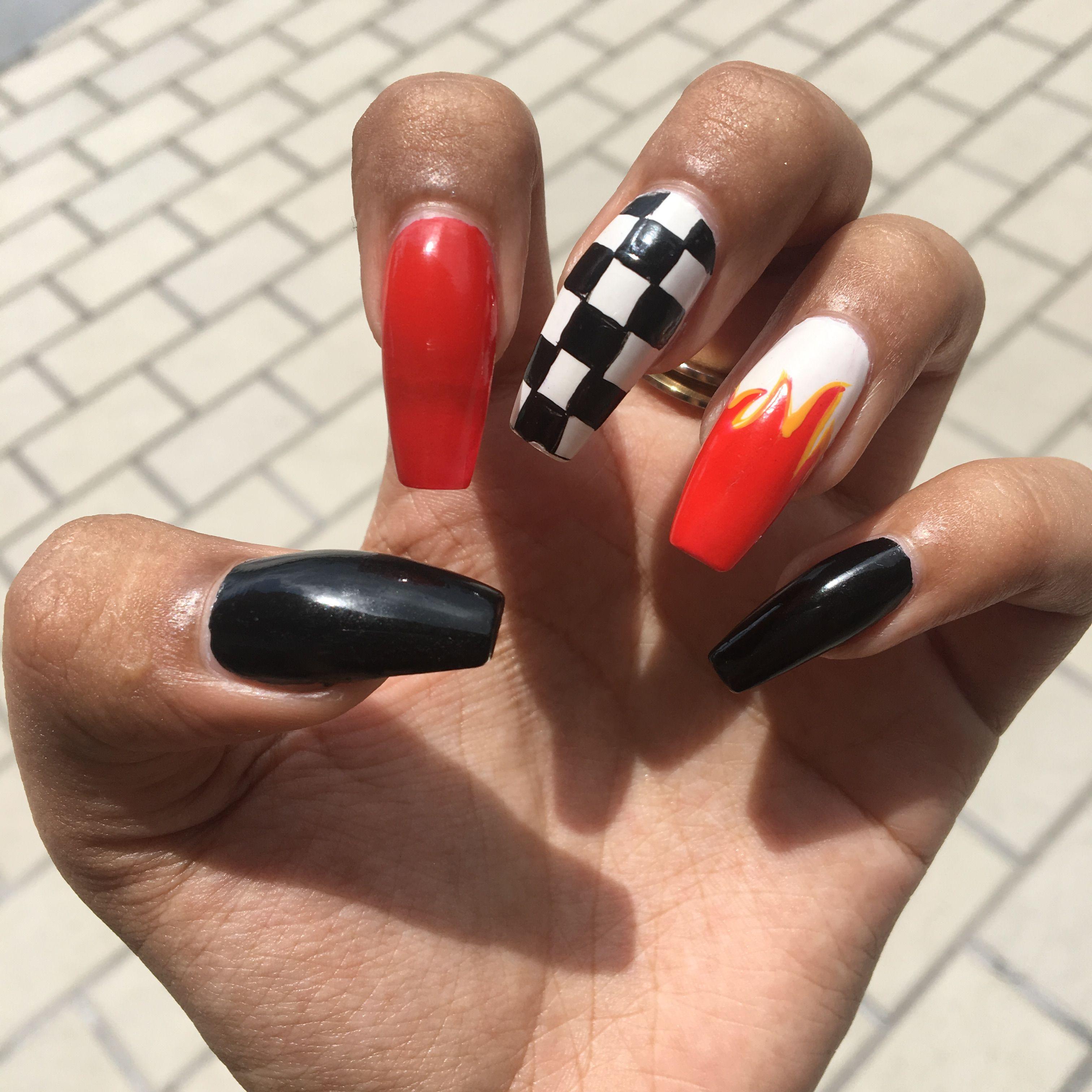 Nails Goals Inspiration Tumblr Baddie Uñas Cejas
