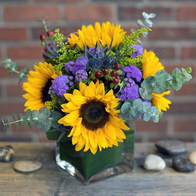 California sunny by robins flower shop fresh flowers