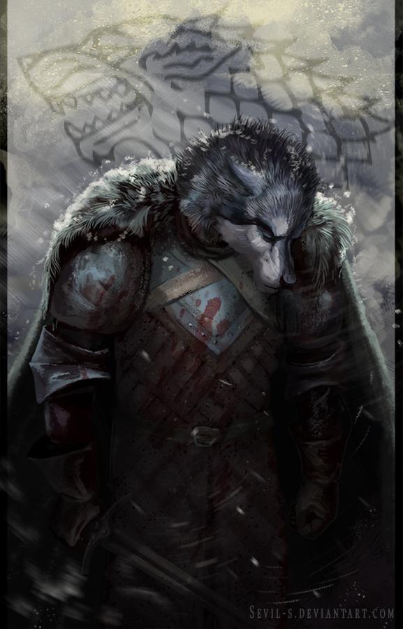 Robb Stark - Game of Thrones by Sevil-s