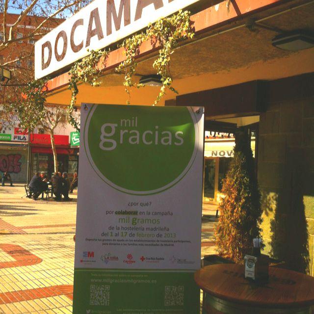 Docamar Participa En La Campana De Recogida Solidaria De Alimentos