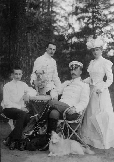 El conde Feliz y familia