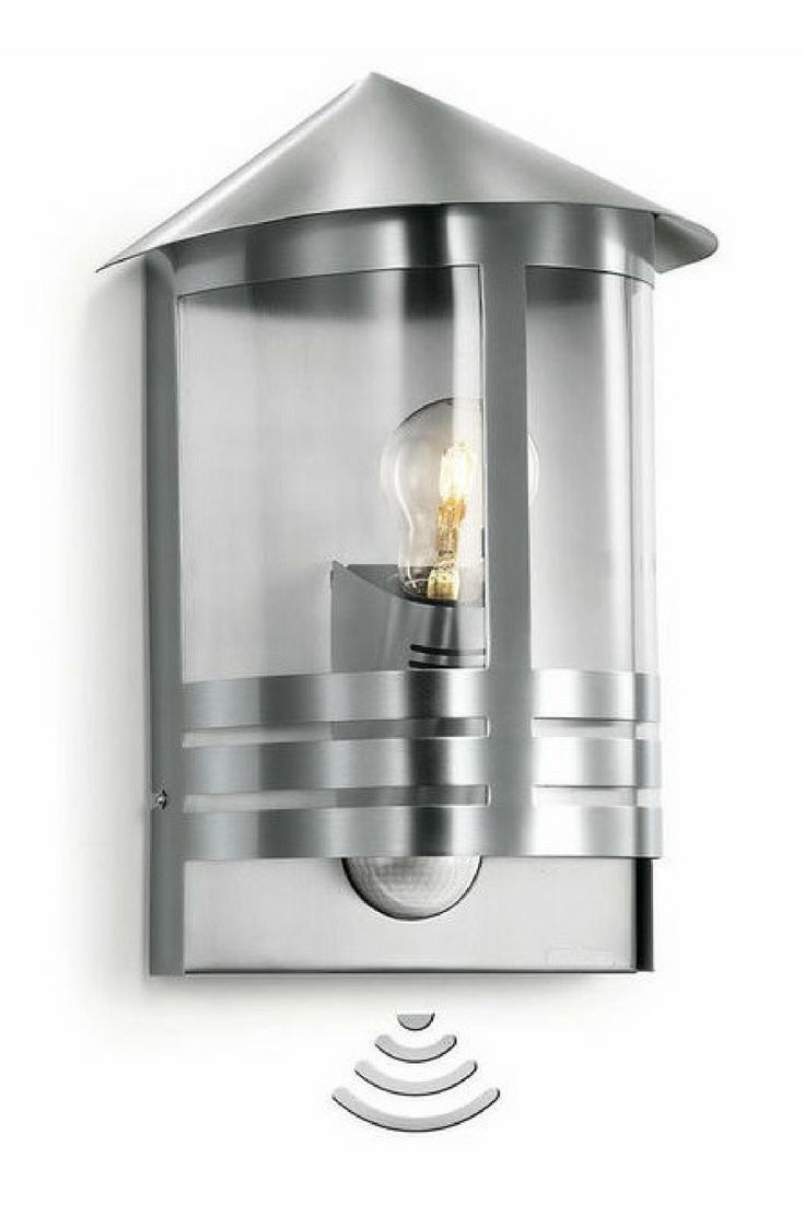 Buy Outdoor Motion Sensor Modern Lantern By Steinel The Worm That Turned Revitalising Your Outdoor Space Modern Exterior House Designs Modern Lanterns Modern Exterior