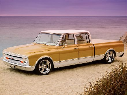 67 Chevy Crew Gm Never Made This One It Is A Suburban Into A