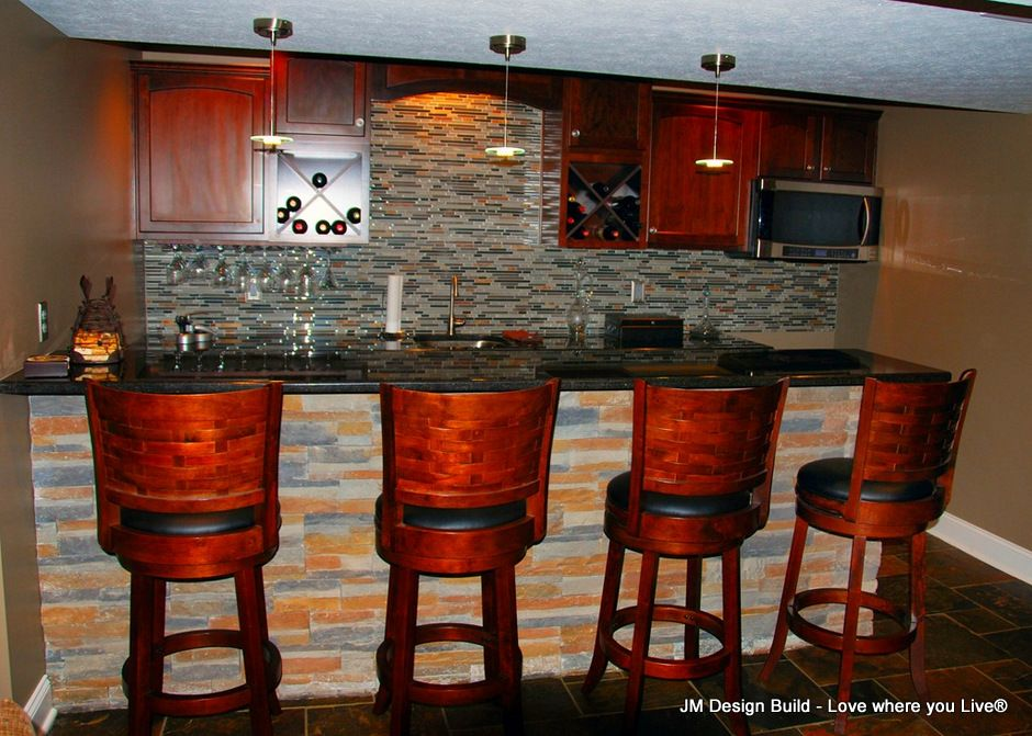 Basement Remodeling With Images Basement Bar Designs Glass