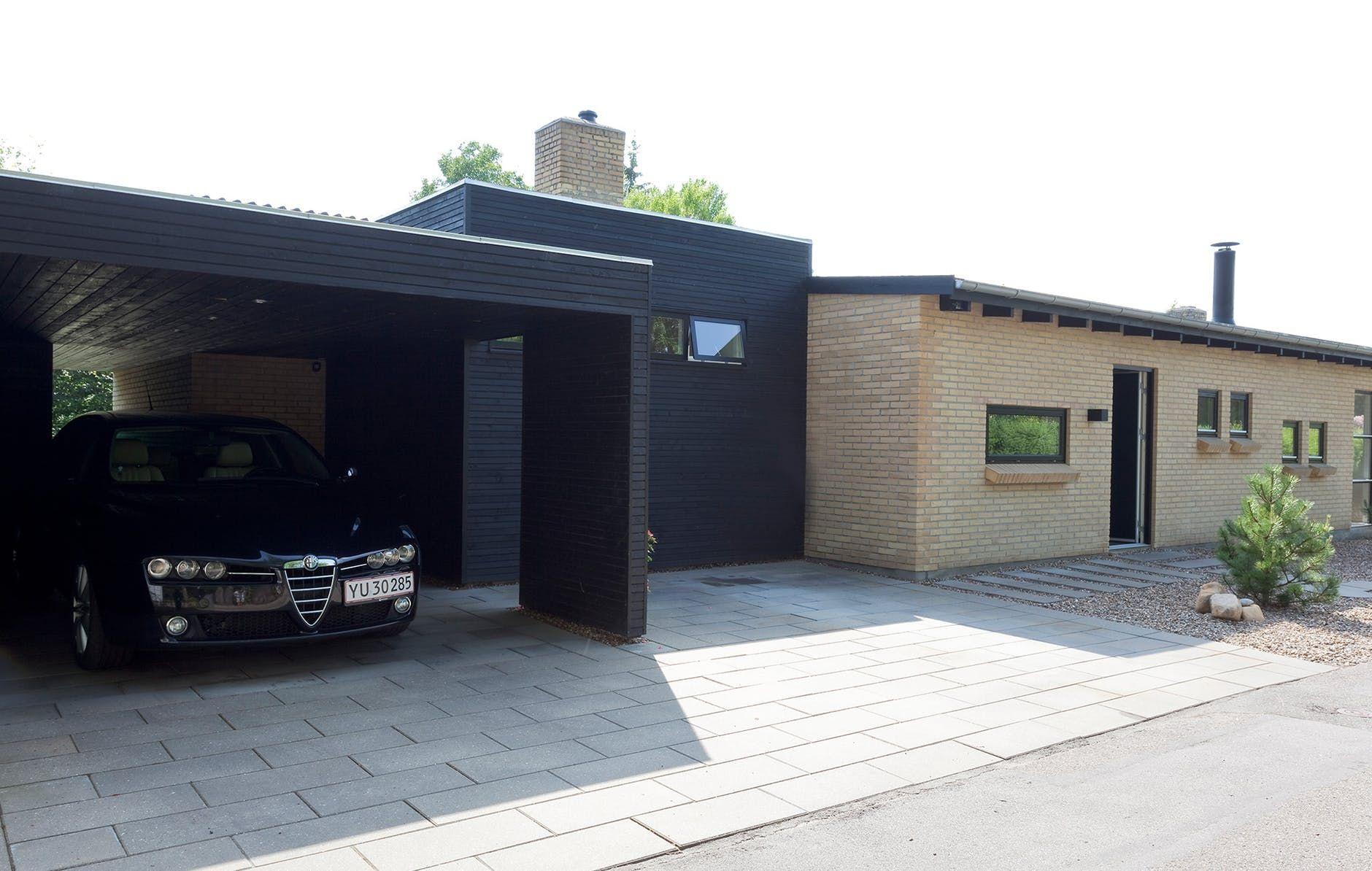 8 fine, arkitekttegnede garager og carporte Arkitekter