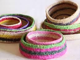 raffia weaving