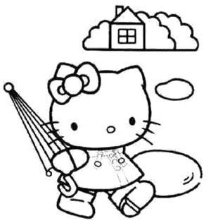 Coloringkids Net Hello Kitty Colouring Pages Hello Kitty Coloring Hello Kitty Art
