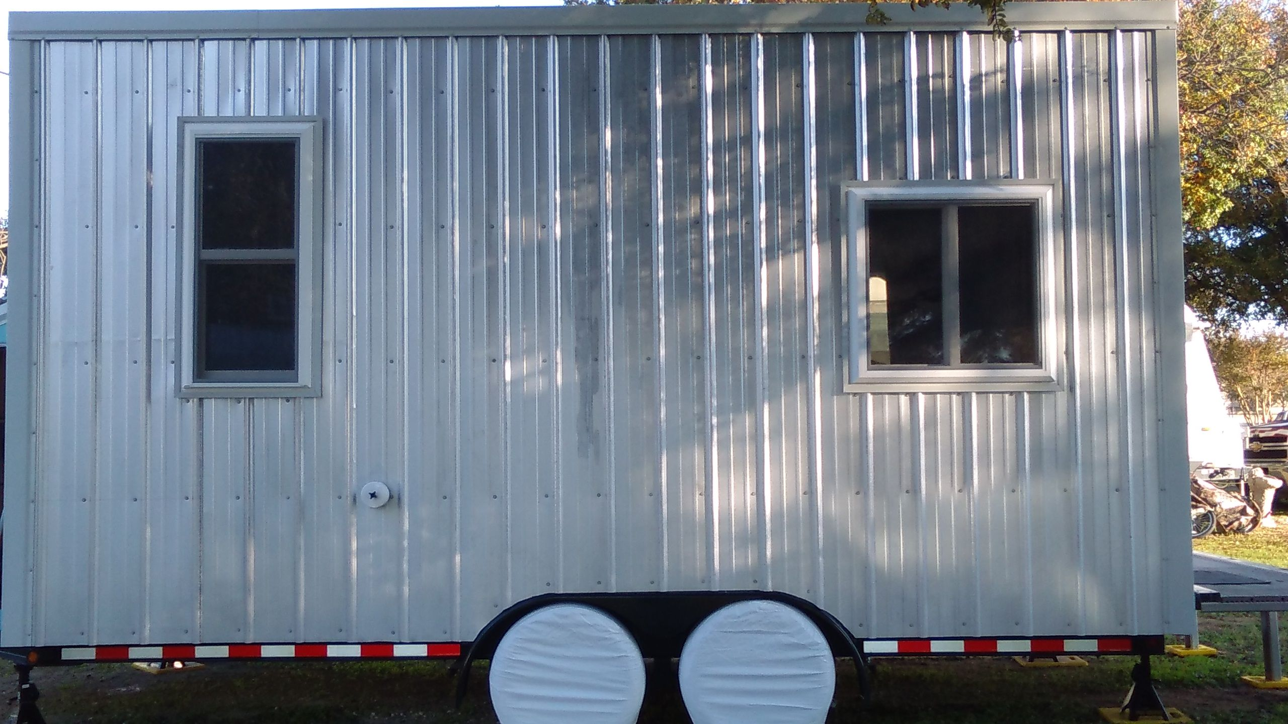 Custom Built STEEL FRAME Tiny House On Wheels (THOW) 120 Sqft U2013Lightweight(