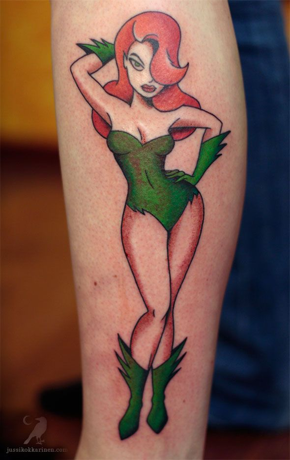 use the form below to delete this poison ivy and two 29 30 31 image rh pinterest nz poison ivy tattoos batman poison ivy tattoo