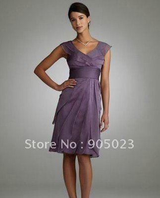 Short Mother of Groom Dresses