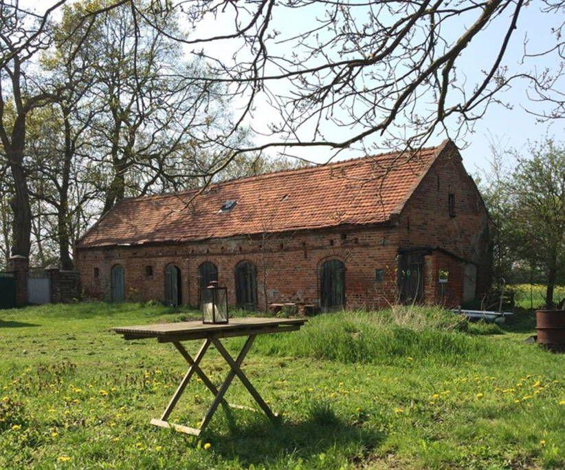 Bauernhaus Dreiseitenhof Hauser Zur Miete In Neuhardenberg Haus Mieten Scheune Wohnen Ferienhaus Mieten