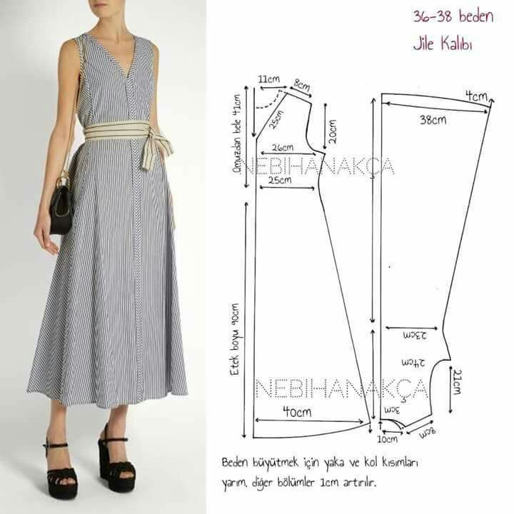 Pin de Mariana Vega en costura tutoriales y mas | Pinterest ...