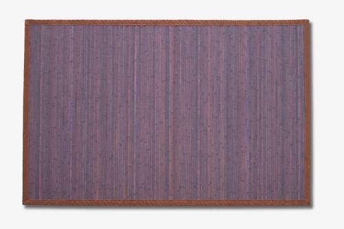 Alfombra bambú Wengé.  Las alfombras de bambú son ecológicas y resistentes gracias a su fibra natural de rápido crecimiento.  Fáciles de lavar, anti-deslizantes, costuras reforzadas y resistentes al agua. #alfombras #bambú #decoración #wengé