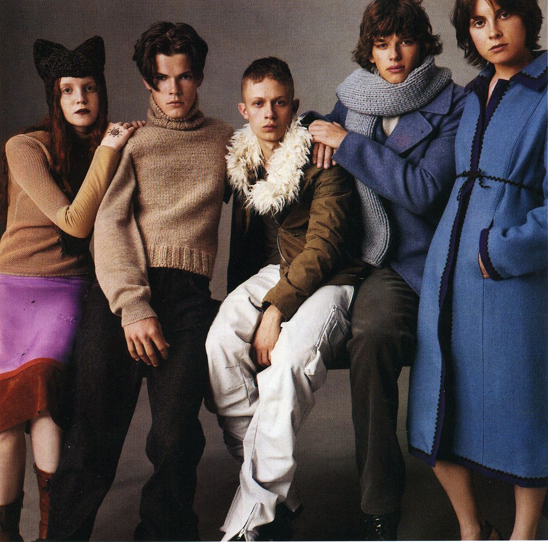 """""""The Group"""" Photographed By Steven Meisel, Vogue Italia"""