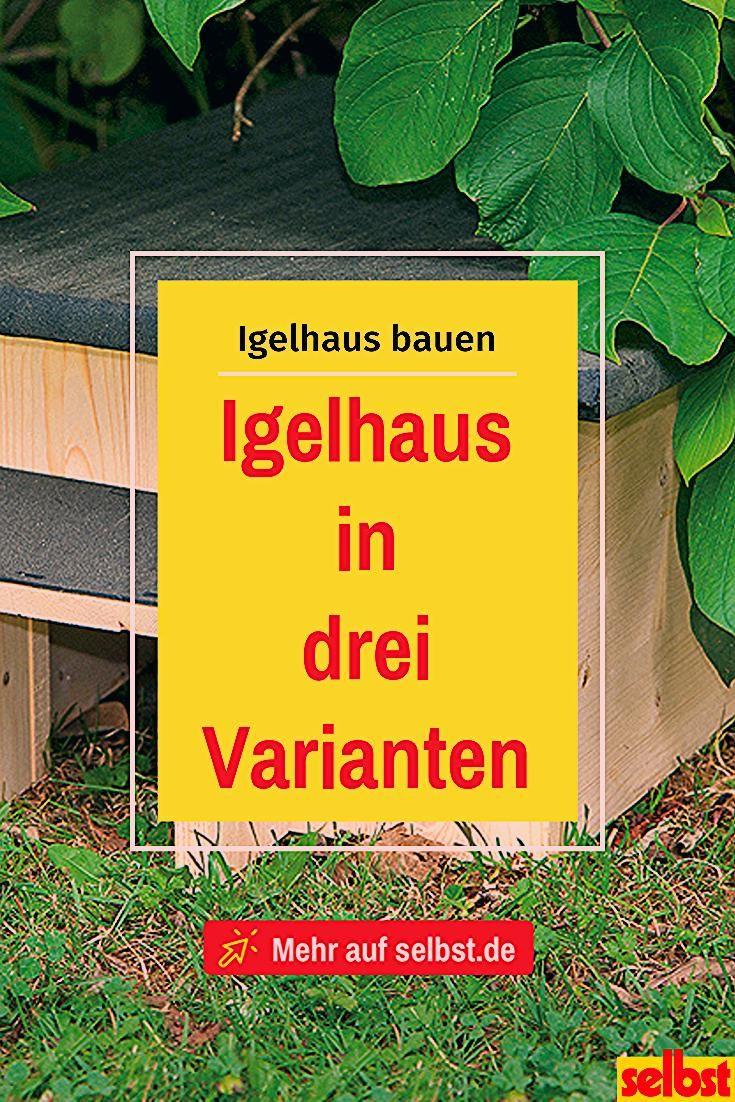Igelhaus bauen | selbst.de
