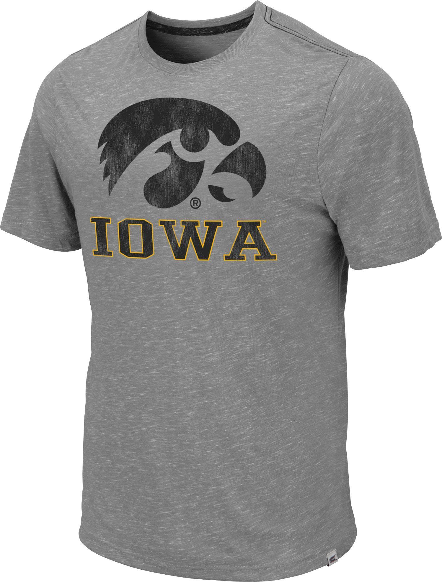 dd80791af3c Colosseum Men s Iowa Hawkeyes Grey Campinas T-Shirt