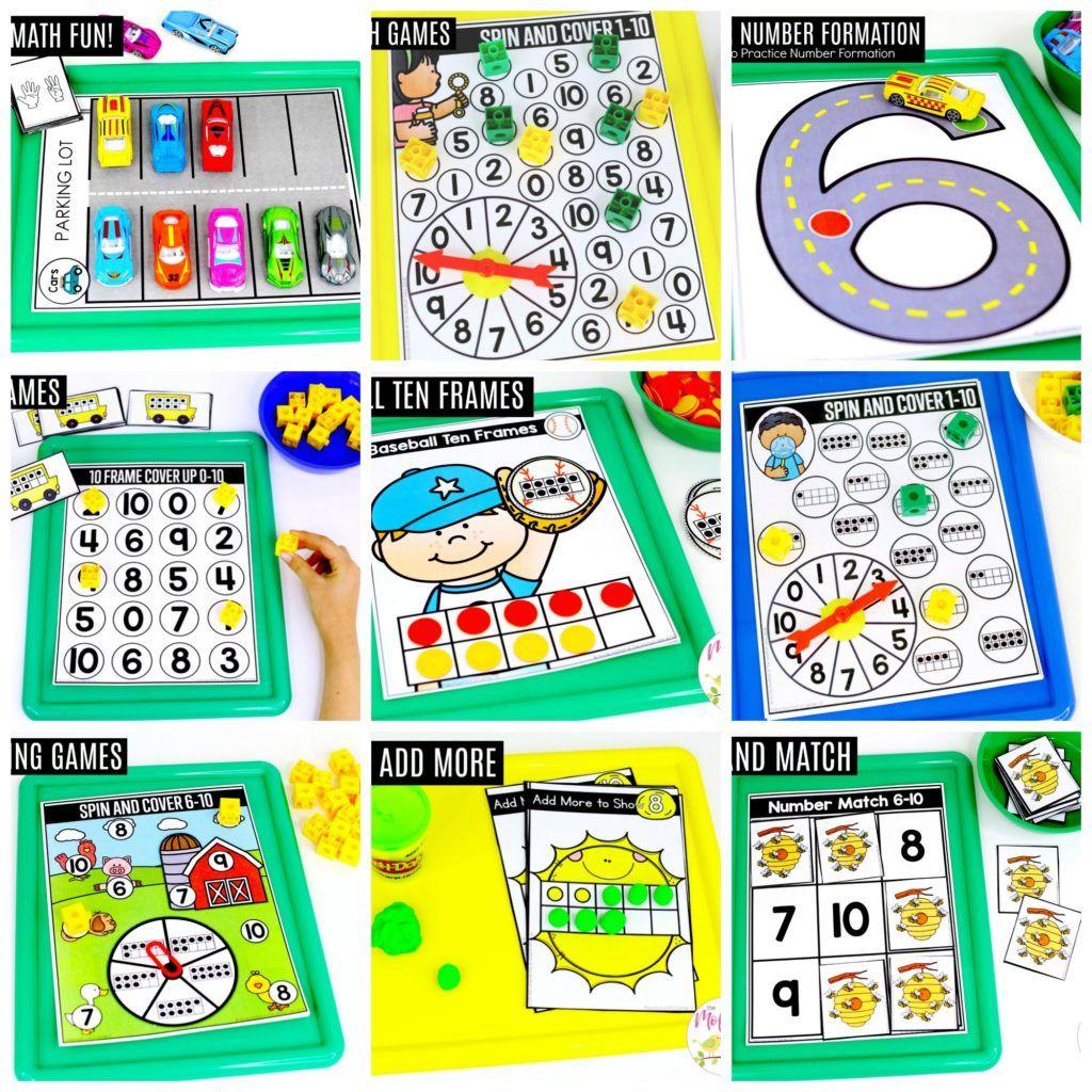 Preschool Math Numbers 6 10