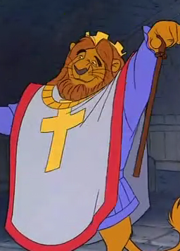 King Richard | Disney cartoon characters, Robin hood 1973 ...