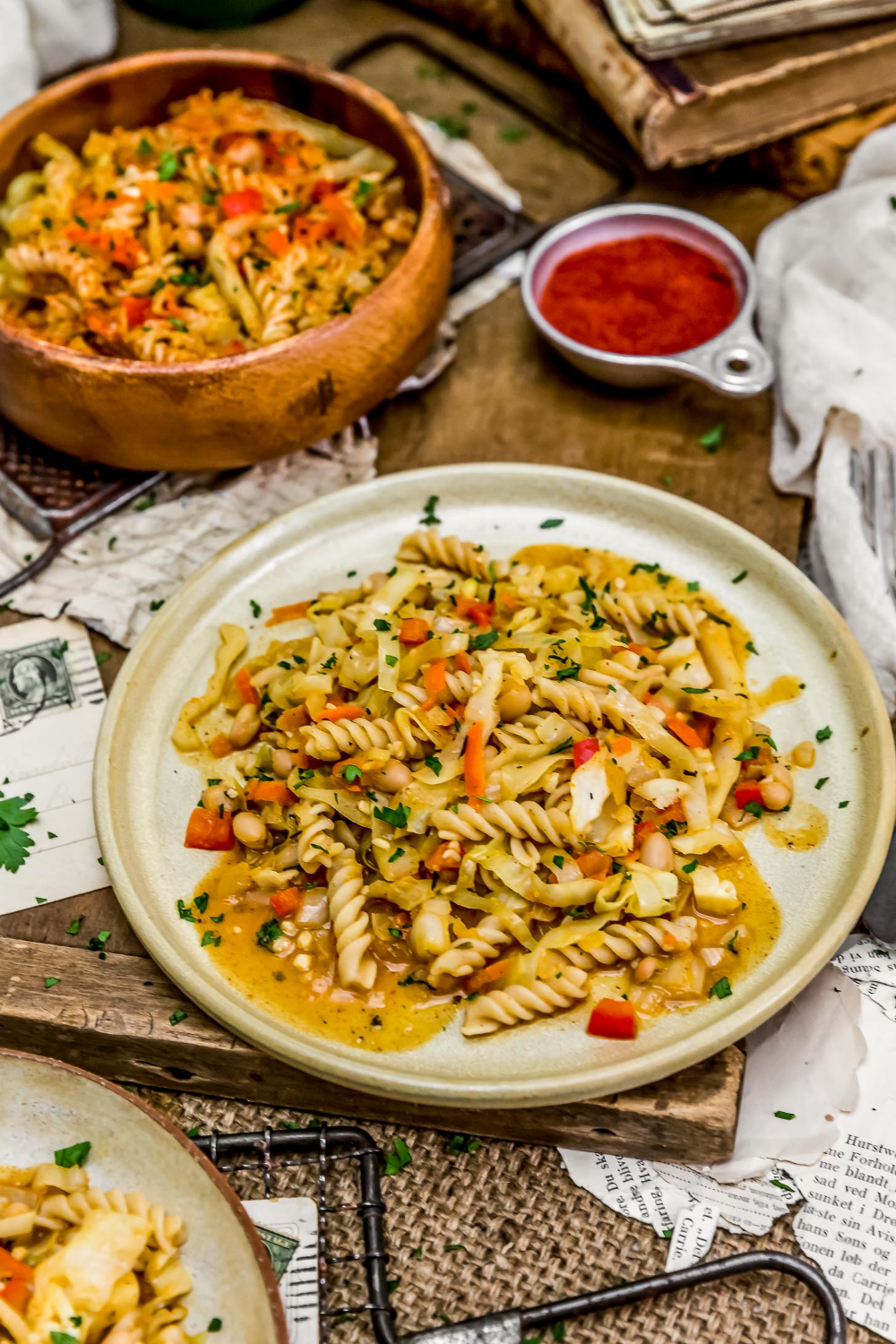 vegan hungarian cabbage and noodles monkey and me kitchen adventures recipe cabbage and noodles whole food recipes vegetarian vegan recipes pinterest