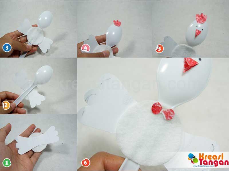 Kerajinan Tangan Membuat Mainan Anak Tk Mainan Anak Kerajinan
