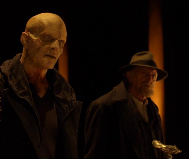Mr. Quinlan and Professor Setrakian- The Strain
