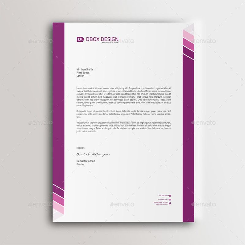 Company letterhead designs letter template business letterhead company letterhead designs letter template business wajeb Images
