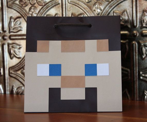 Block Bags Party Gift/Favor Bags... Give me an idea to make my own!