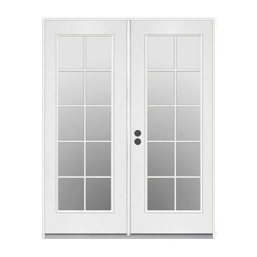 double door french patio door