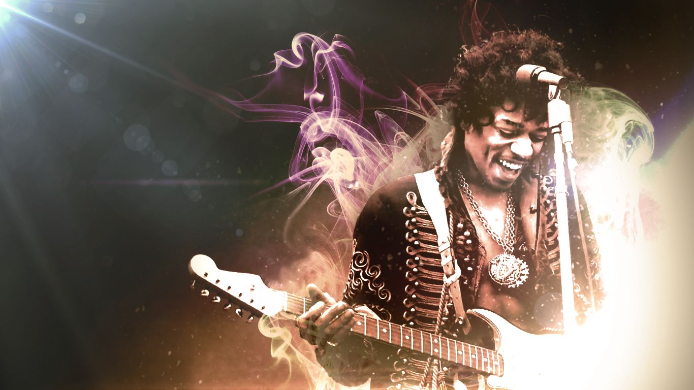 Jimi Hendrix Hd Wallpapers And Backgrounds 1366768 Jimi