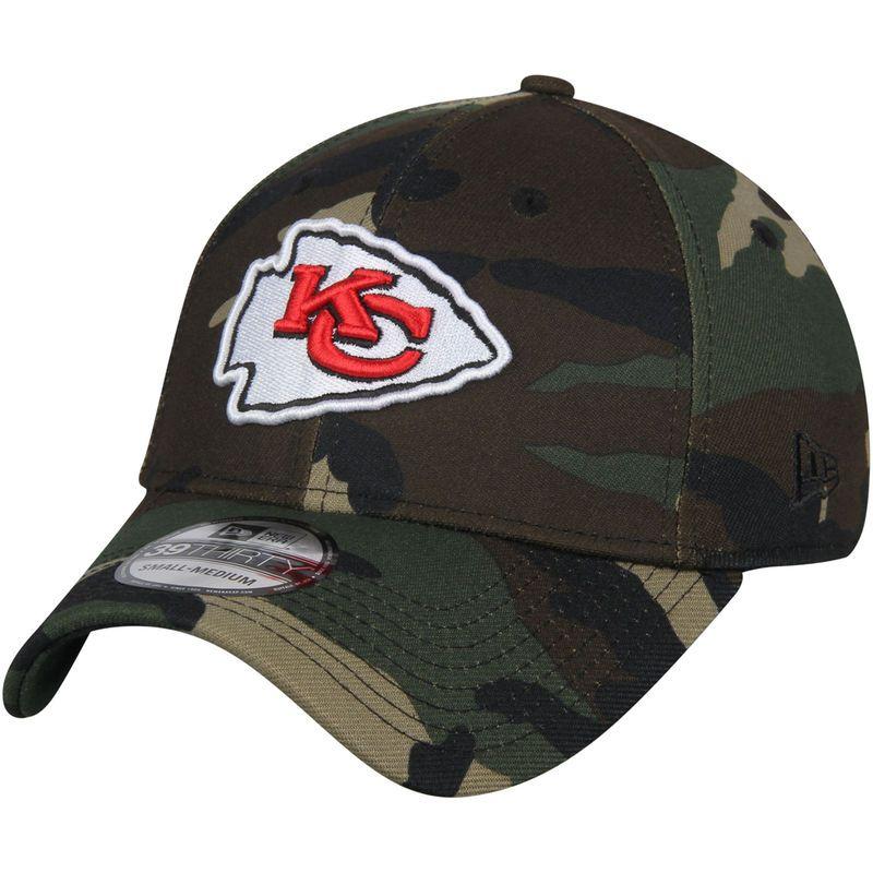 d857b92f Kansas City Chiefs New Era Woodland 39THIRTY Flex Hat – Camo ...
