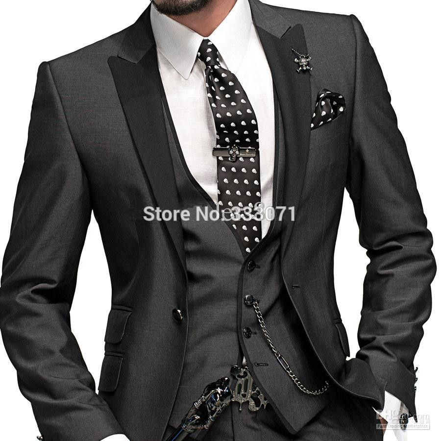 Find More Suits Information about tailor made 2015 New Groom Suits ...